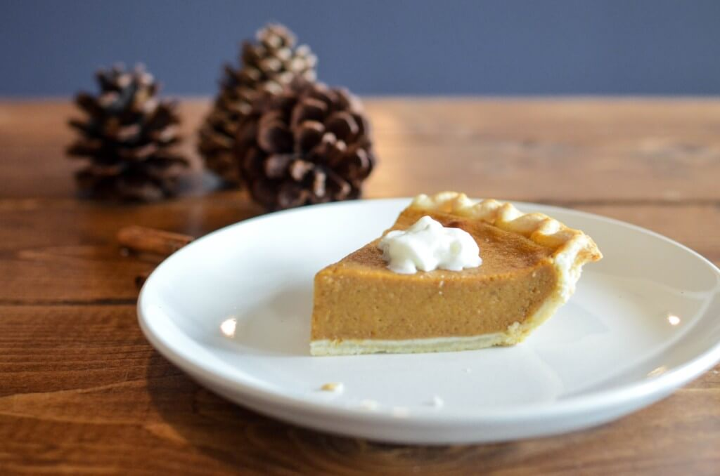 thanksgiving dinner pumpkin pie