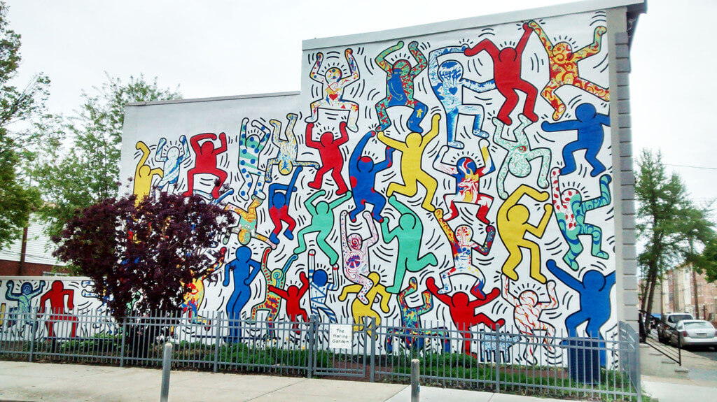 Keith Haring Mural things to do in philadelphia