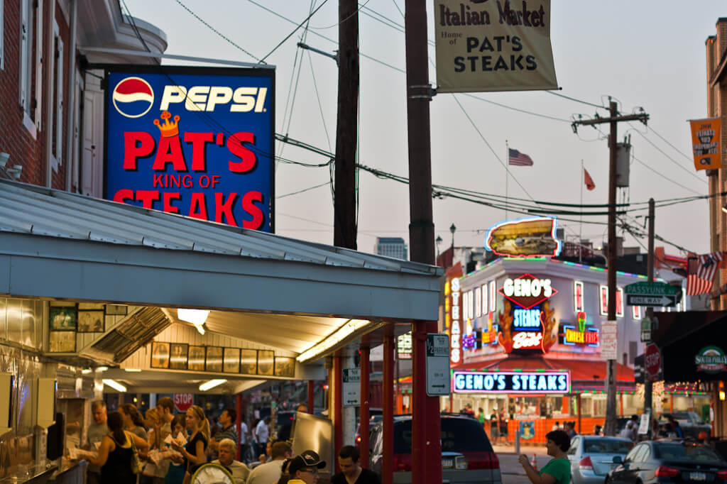 Pat's and Geno's things to do in philadelphia