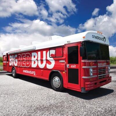 blood donation bus
