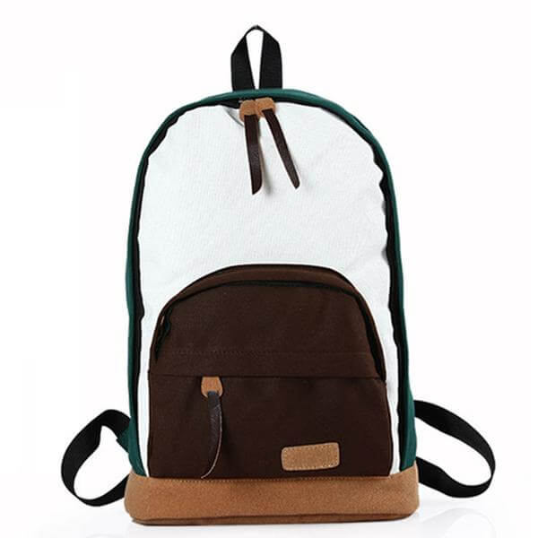 Bold Canvas Backpack