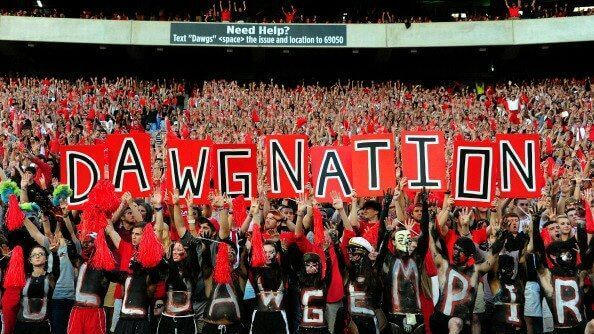 dawg nation uga party schools