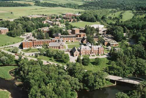 Bishop's University campus best universities in Canada