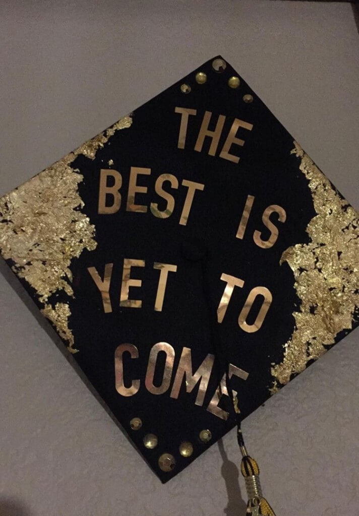 god graduation cap ideas