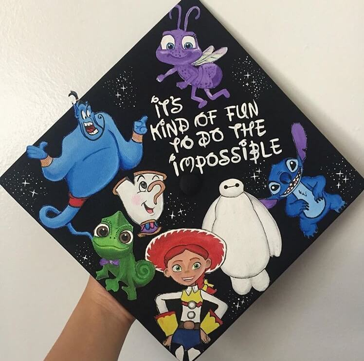 impossible graduation cap ideas