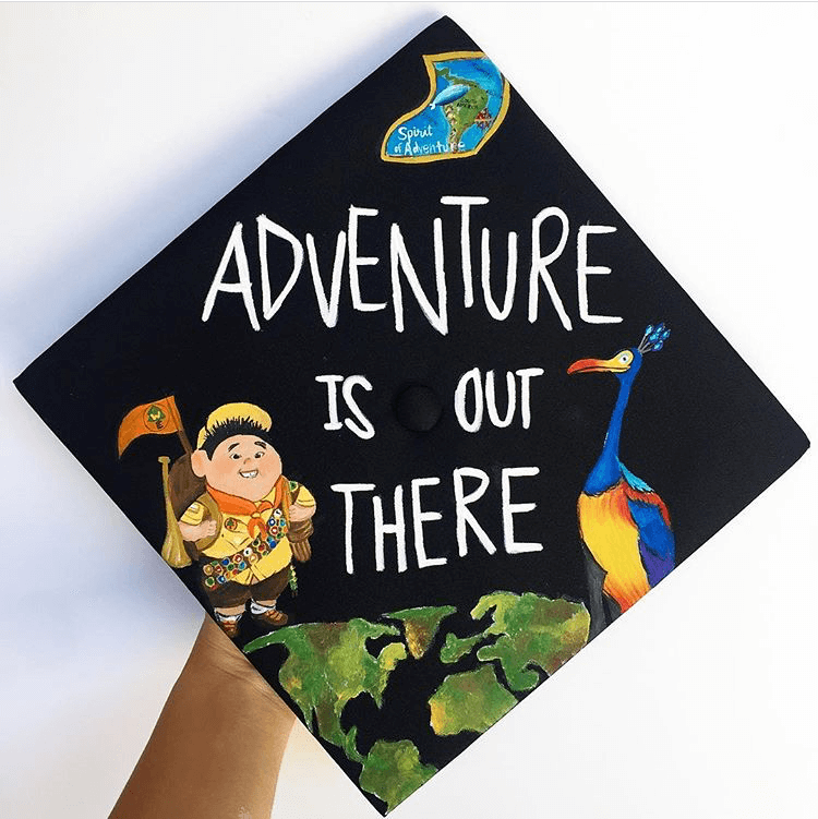 up graduation cap ideas