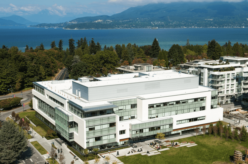 UBC campus best universities in Canada
