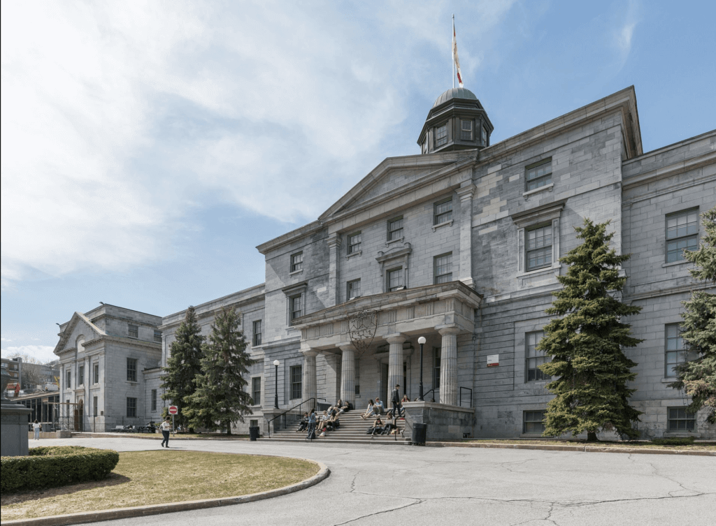 McGill Campus best universities in Canada