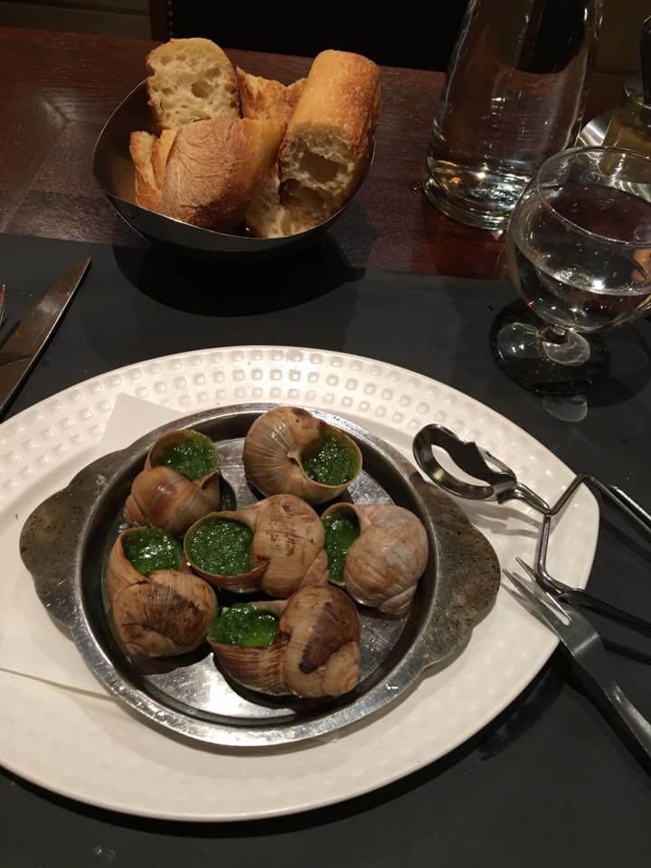 Escargot Dinner