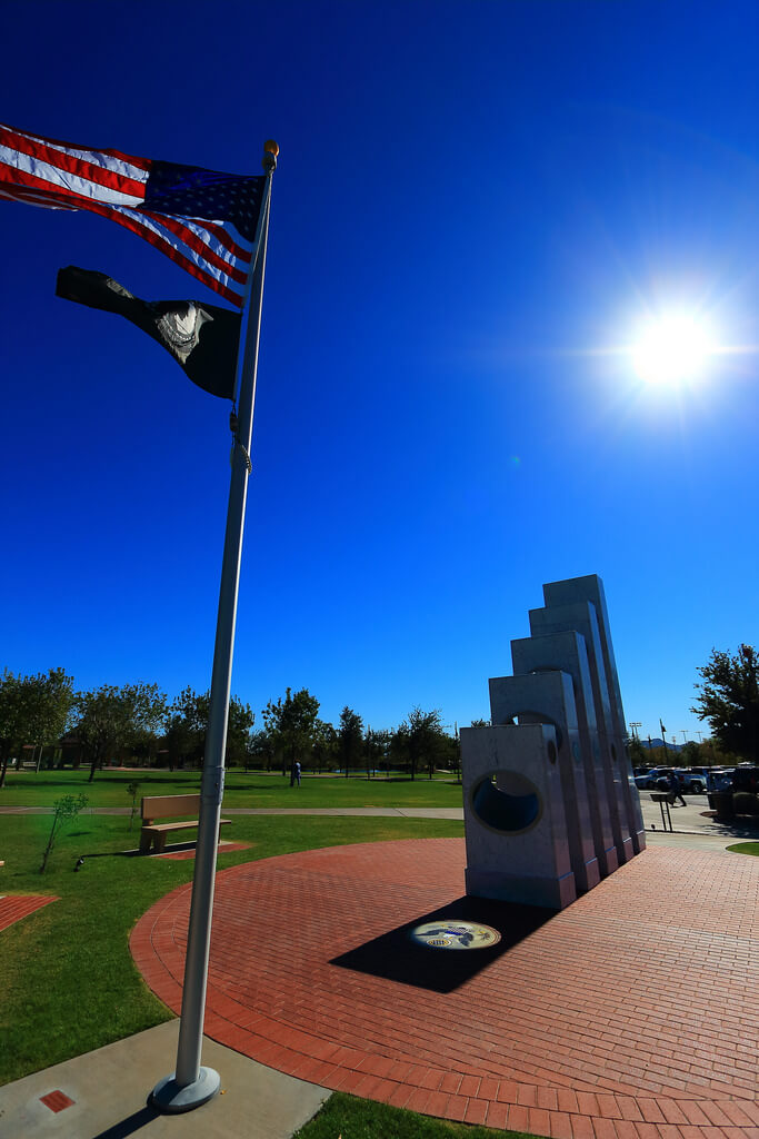 anthem's veterans memorial