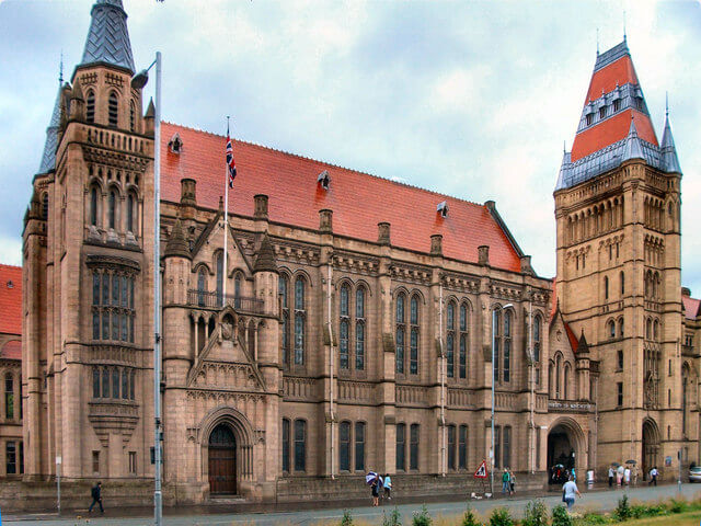 University of Manchester Colleges In England