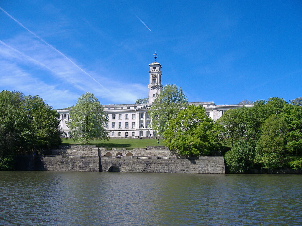 University of Nottingham Colleges In England