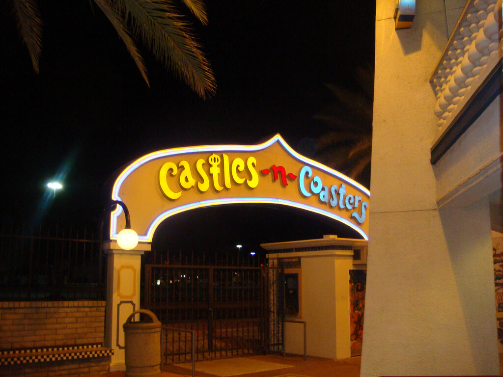 Castles and Coasters entrance