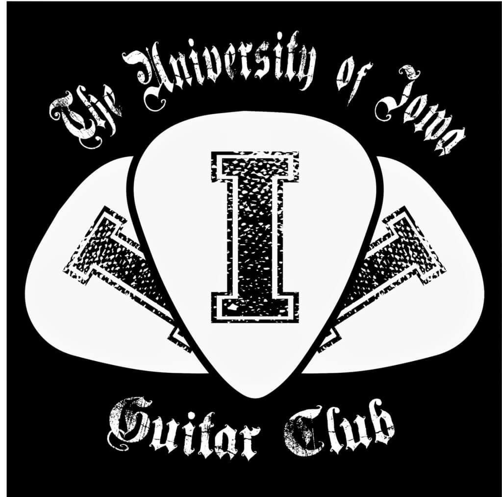 Guitar Club Logo university of iowa student orgs