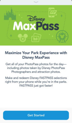 disney vacation maxpass