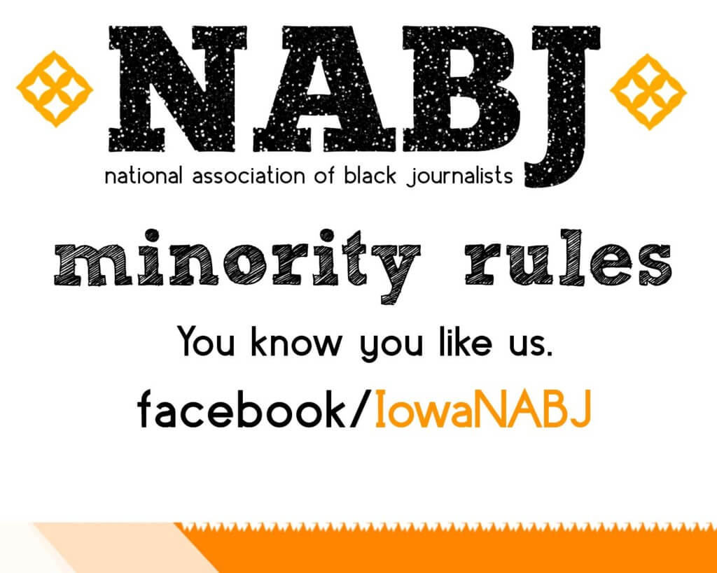 NABJ Logo university of iowa student orgs