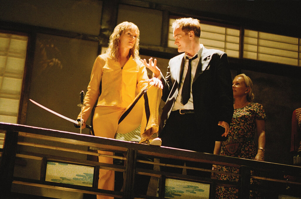 kill bill acting