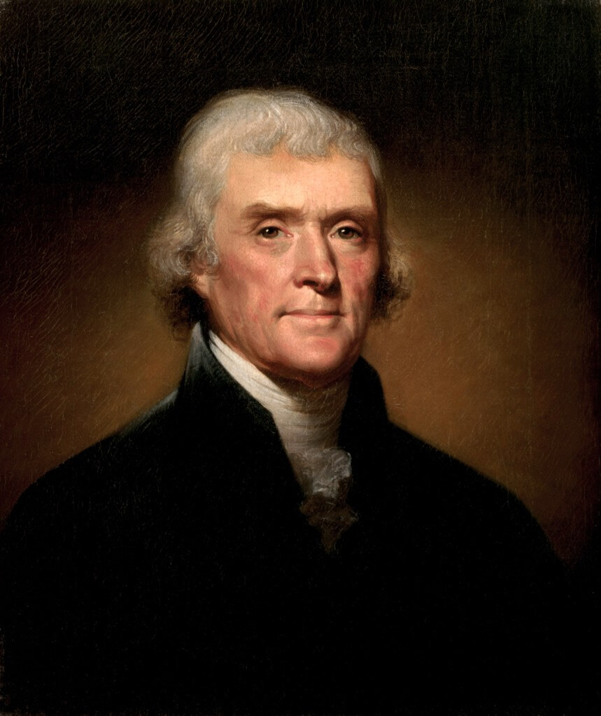 Thomas Jefferson, college of William and Mary Alumni