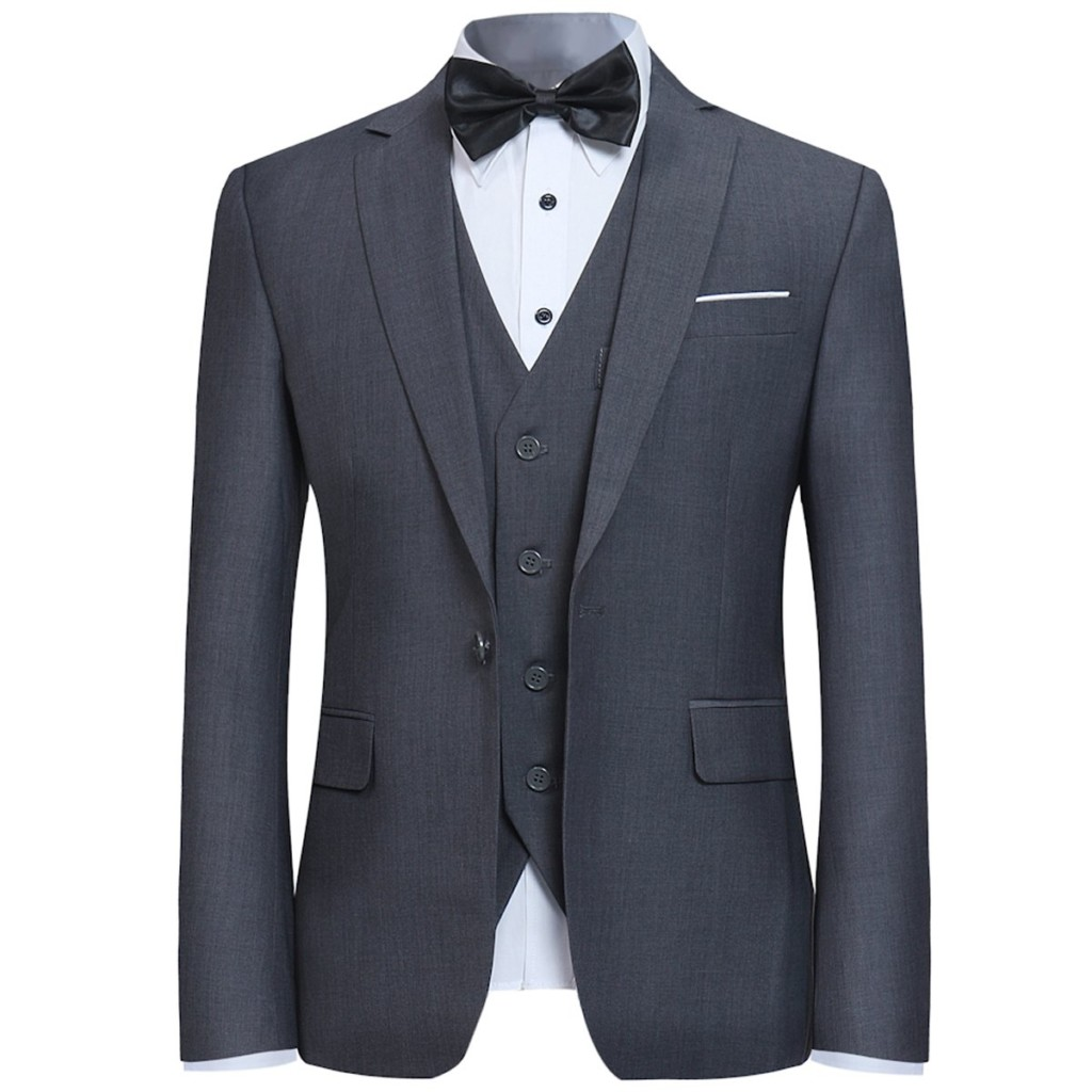 96be100a7 A man in a tux is irresistible. Just think James Bond. Tuxedos radiate  class, elegance and success. Every aspect of a properly fitted tux  complements the ...