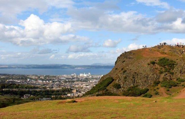 Holyrood Park Arthur's Seat Edinburgh Scotland