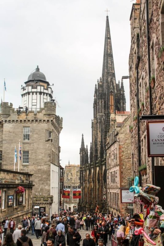 things to do in Edinburgh Scotland Royal Mile