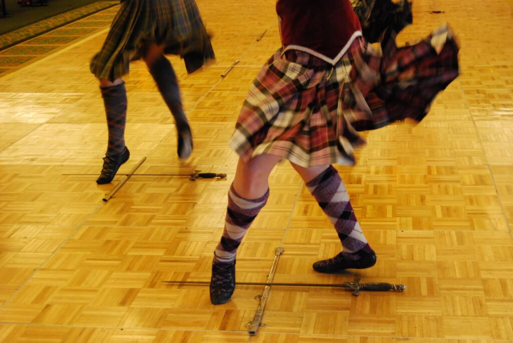 Scottish Dancing Edinburgh Scotland