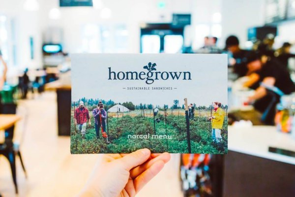 companies that give back homegrown