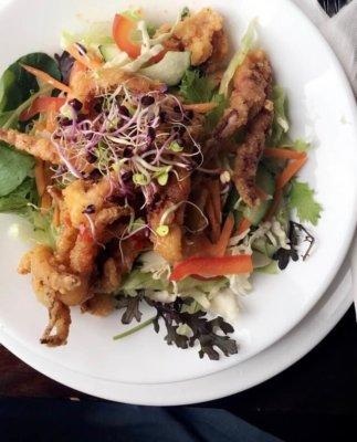 squid salad, salad