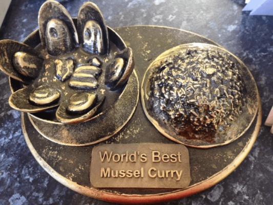 mussel curry, Oriental Kingdom