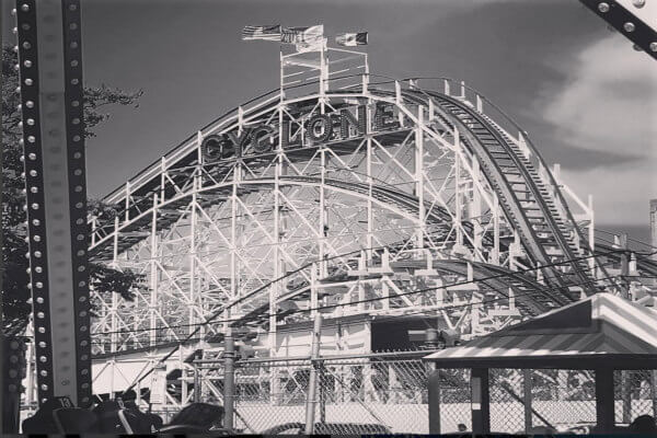 The cyclone rollercoaster instagram spots in NYC