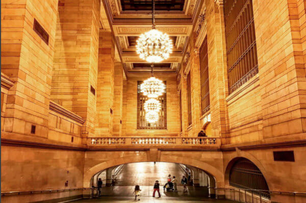 instagram spots in nyc beautiful architecture in Grand Central