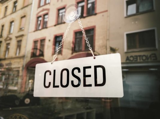 closed, closed sign, not open
