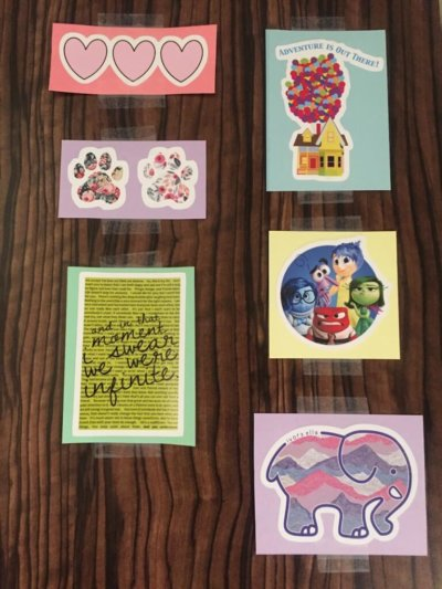 stickers diy projects