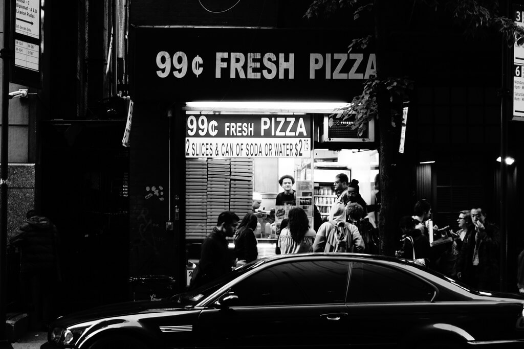 99 Cents Fresh Pizza