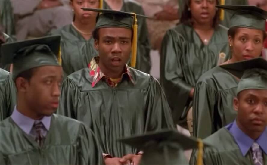 donald glover in 30 rock