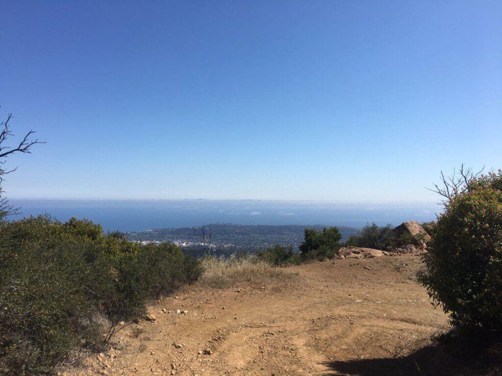 Lookout of Santa Barbara view