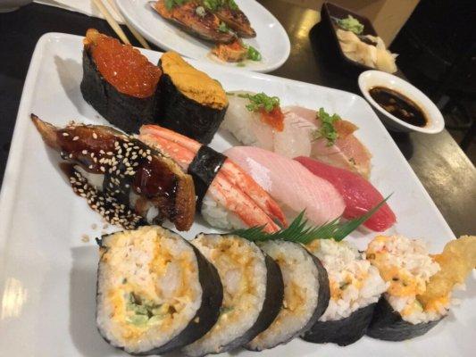 deluxe sushi from Edomasa in Santa Barbara