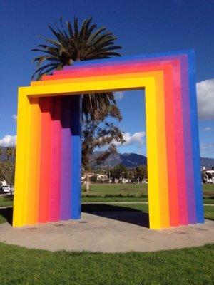 The Chromatic Gate in Santa Barbara