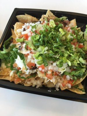 Freebirds nachos in Santa Barbara