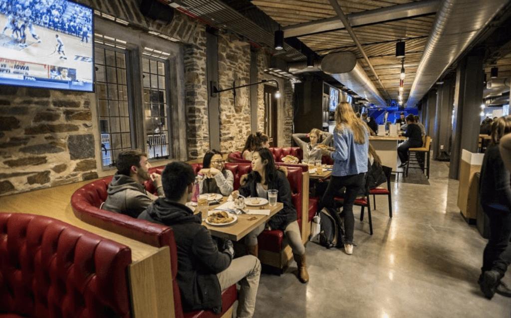 duke university luxurious dining