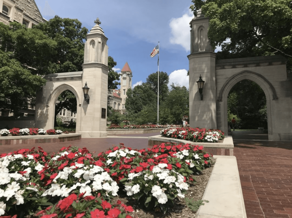 most beautiful campuses indiana university