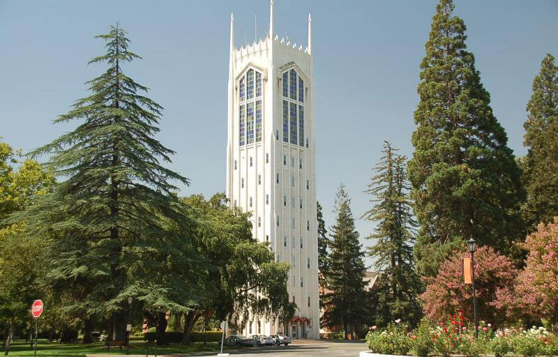 university of the pacific most beautiful campuses