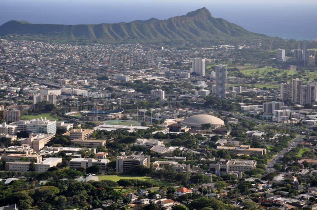 most beautiful campuses 2018 uh manoa