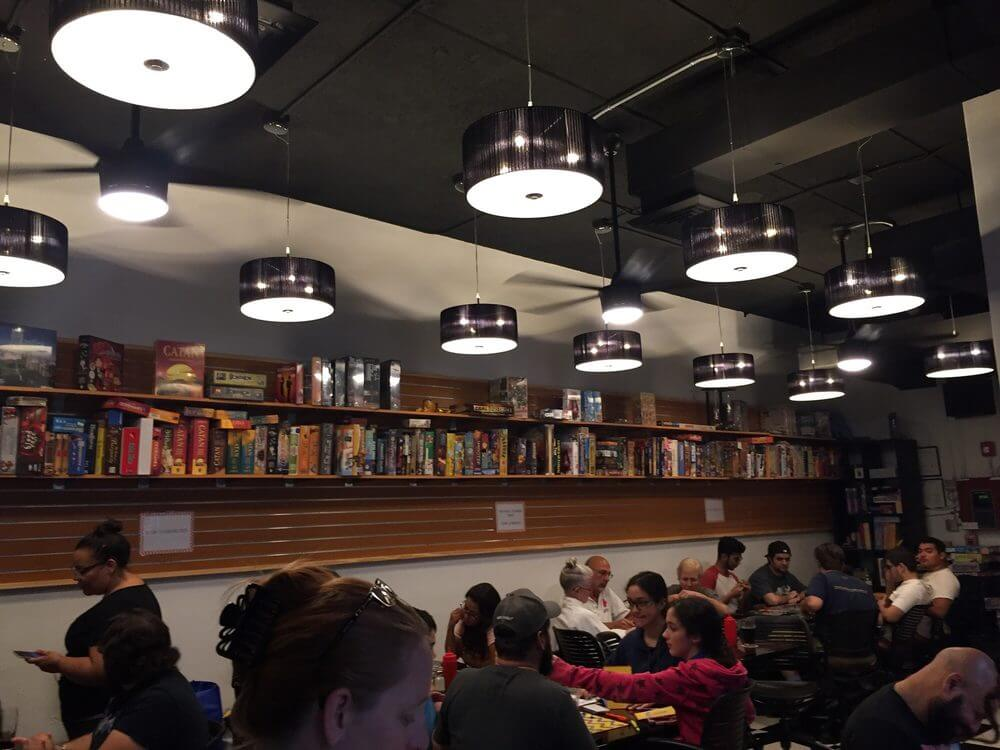 mac and cheese board game cafe