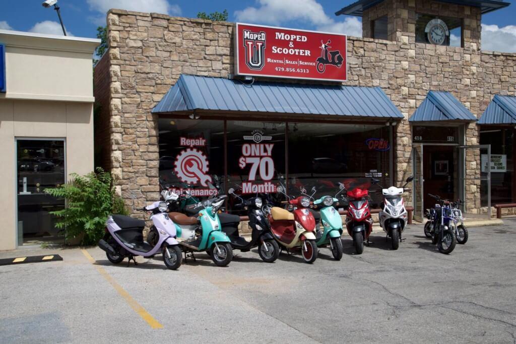 Fayetteville mopedu