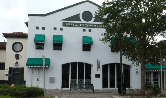 town hall of homestead