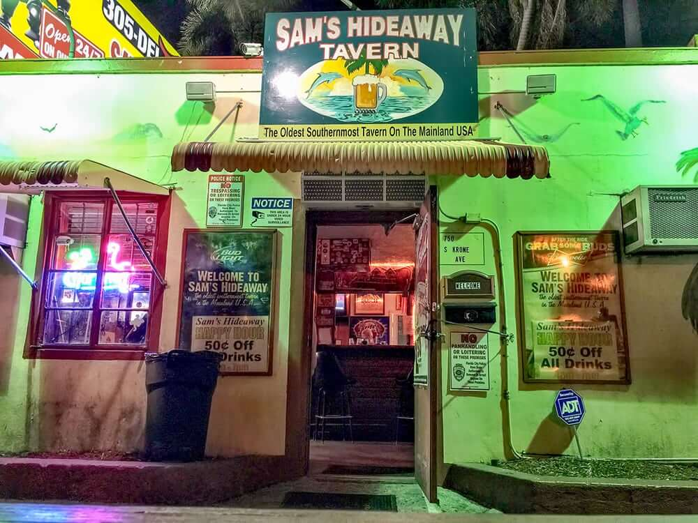 sam's hideaway tavern things to do in homestead fl