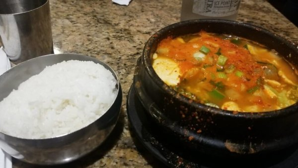 Soft Tofu Stew from Seoul Tofu (UCLA Food)