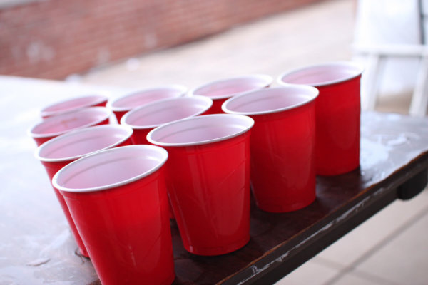 student tips- red solo cups