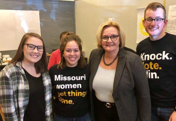 2018 midterm congresswomen elections claire mccaskill